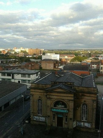 Park Inn by Radisson Manchester, City Centre: View from the room window