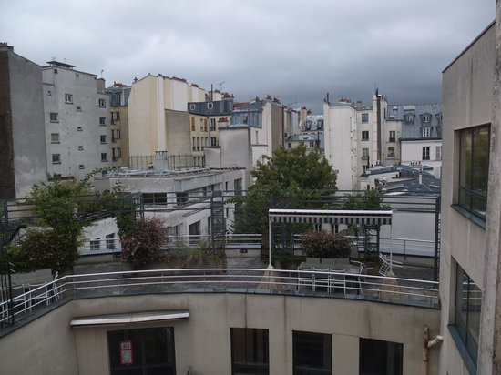 Hotel Arvor Saint Georges : View from room
