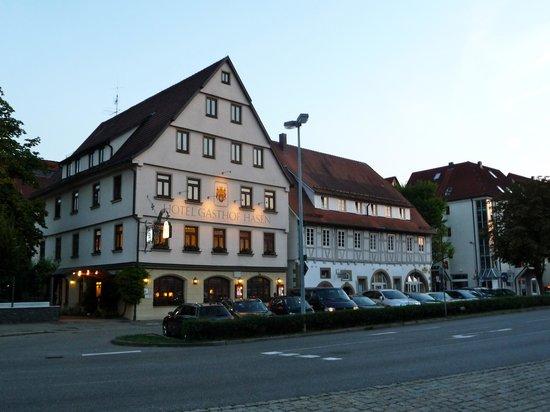 Ringhotel Gasthof Hasen: Sunset
