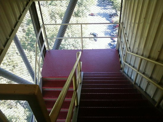 Hot Springs Mountain Tower: The stairs up