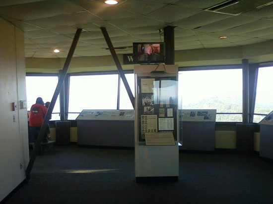 Hot Springs Mountain Tower : The displays inside