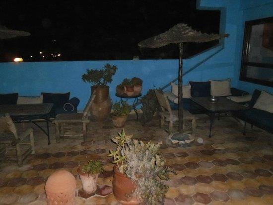 Riad Le Grand Large: Terrasse de nuit