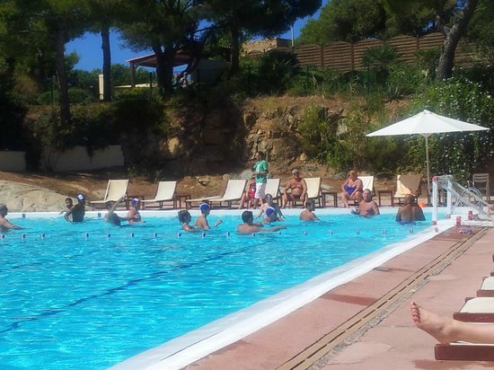 Club Med Sant'Ambroggio : Animation Water P. piscine
