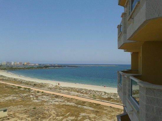 Valmanga: vista desde el balcon
