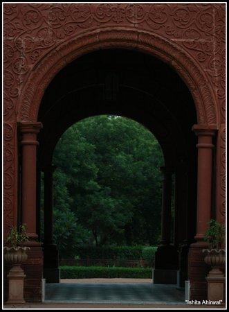 Hotel Raj Niwas Palace: The main entrance