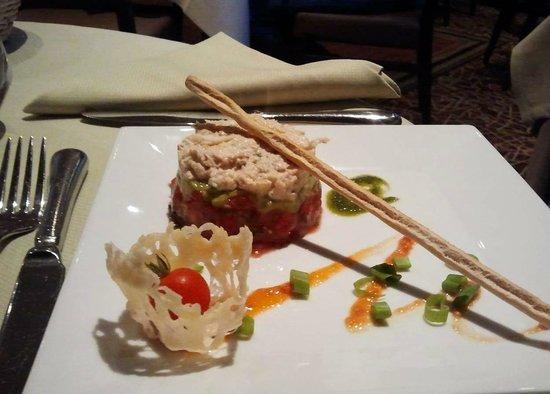 Hotel Beauregard : Voorafje diner