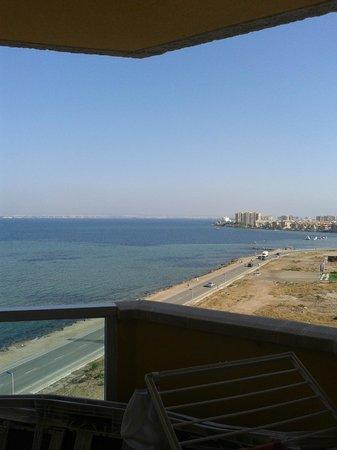 Valmanga: vista al mar menos desde el balcon