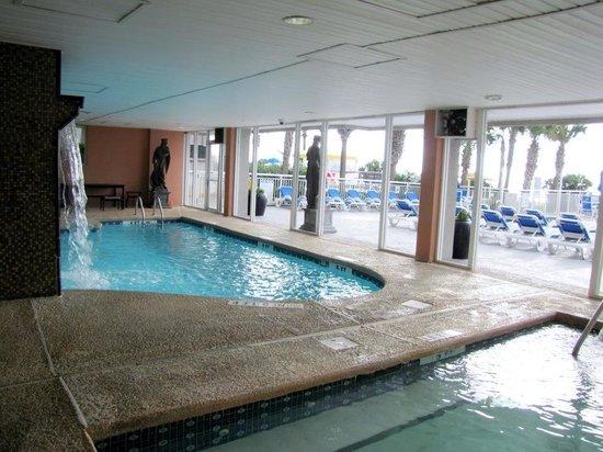 Indoor hot tub & pool - Picture of Atlantica Oceanfront Resort ...