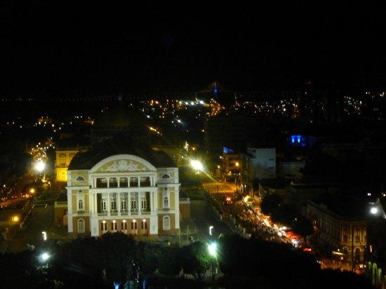Taj Mahal Hotel Manaus : Visão do restaurante rotativo