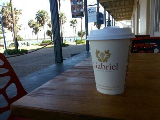 Mi Casa Spanish Restaurant: Coffee with a view, fantastic!