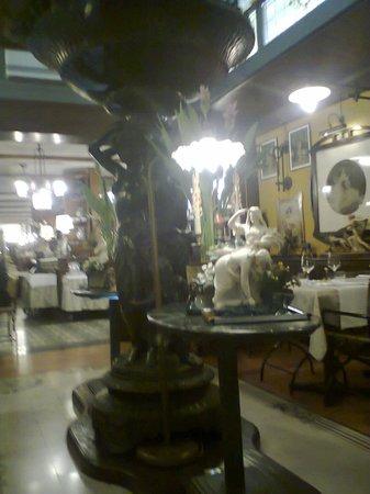 antica trattoria al gallo: sala ristorante
