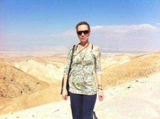 Abraham Hostel Jerusalem : Deserto de Juda, um dos passeios.