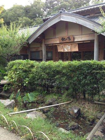 Kira no Sato: 大浴場入り口