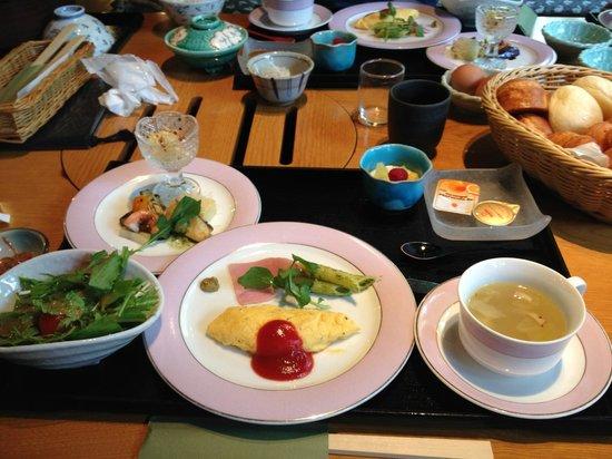Kira no Sato: 朝から盛りだくさんな洋朝食