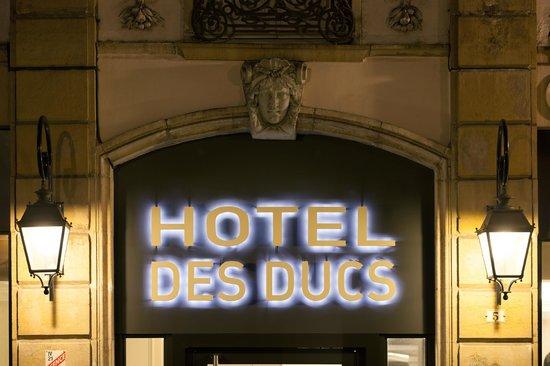 Hotel des Ducs : Entrée