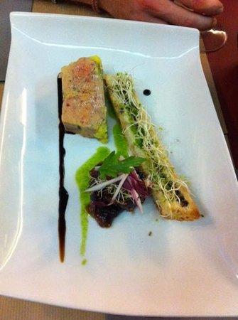 Au Rez de Chaussée : foie gras aussi beau que bon