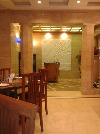 Hotel Ritz Inn : Entrance to the Dining Room