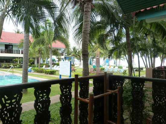 Dolphin Bay Resort: Vue de la chambre