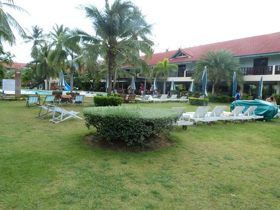 Dolphin Bay Resort : Autour de la piscine