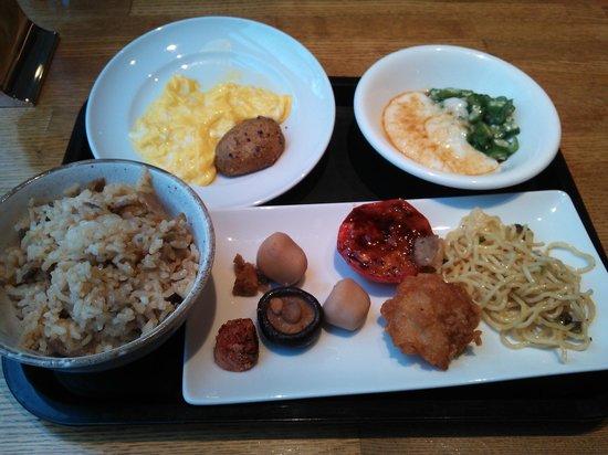 Richmond Hotel Fukuoka Tenjin: 13.04.07【リッチモンド福岡天神】朝食の一例
