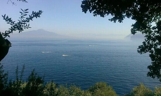 Villaggio Santa Fortunata Campogaio: view from bungalow Argento
