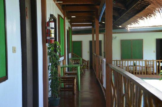Badladz Dive Resort : balcony