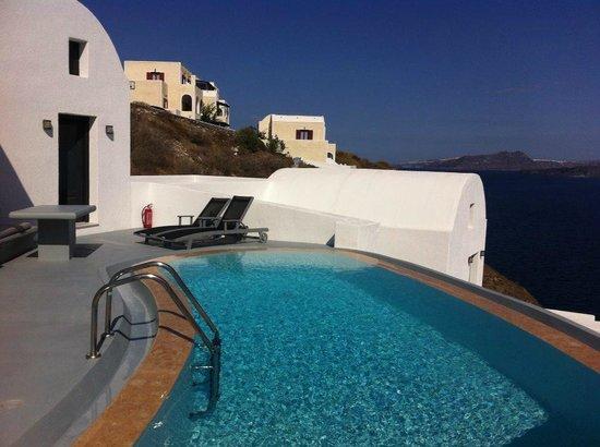 Ambassador Aegean Luxury Hotel & Suites: Piscine privée