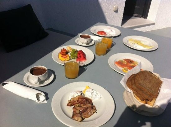 Ambassador Aegean Luxury Hotel & Suites : Petit déjeuner
