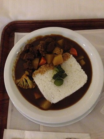 Hotel Jen Manila: Japanese beef curry