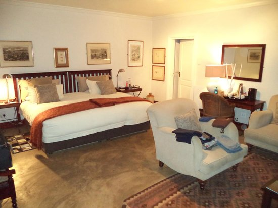 Fugitive's Drift Lodge and Guest House : Bedroom
