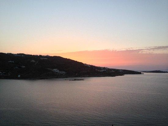 Vana Holidays Hotel: tramonto dalla camera