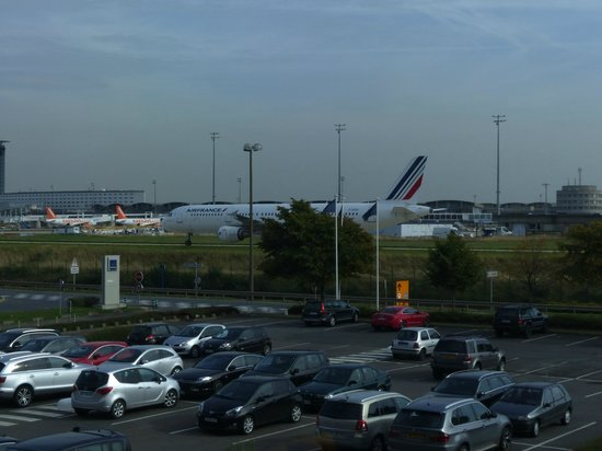 Novotel Paris Charles de Gaulle Airport : view from room