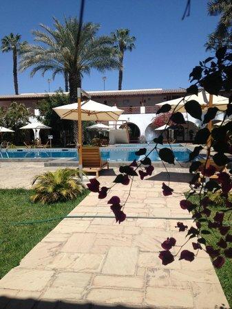 DM Hoteles Nasca: zwembad/tuin