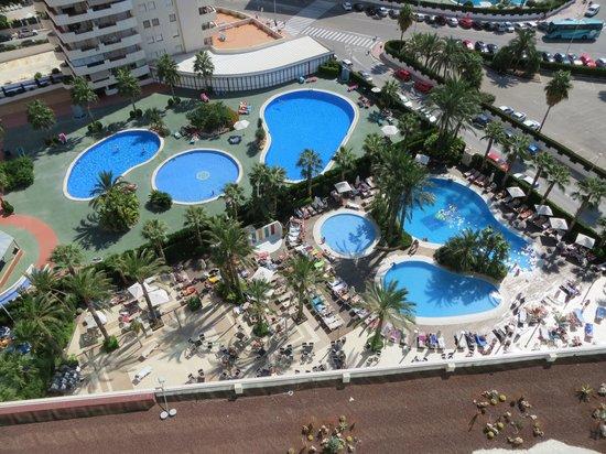 AR Diamante Beach SPA Hotel & Convention Centre: View from bedroom balcony.