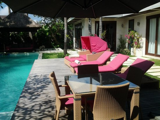 Chandra Luxury Villas Bali : The pool