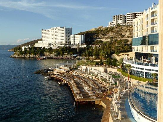 Charisma De Luxe Hotel : どこからもエーゲ海が望めます