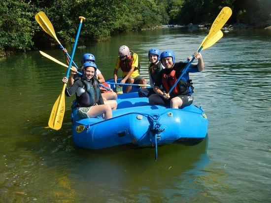 Adventures Panama: Empezando el Rafting