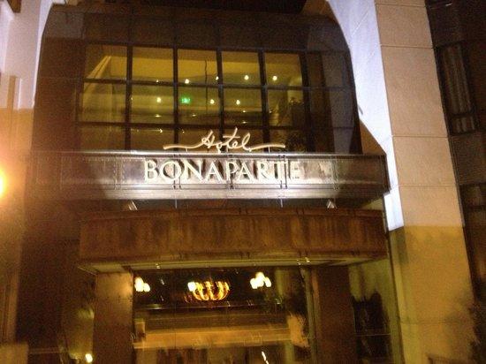 Hotel Bonaparte : Front