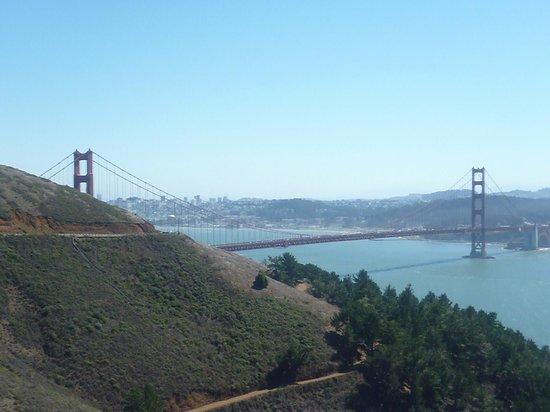 San Francisco Shuttle Tours: View from Marin Headlands