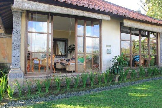 Sanda Butik Villas : patio