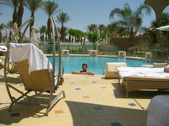 Herods Vitalis Spa Hotel Eilat : Private pool  only for the Vitalis Hotel guests