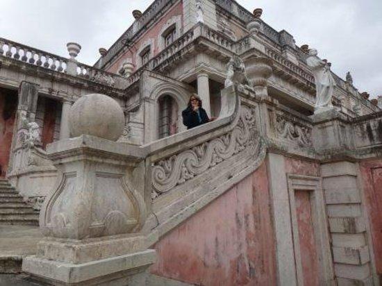 National Palace of Queluz: Vista do fundo do Palácio