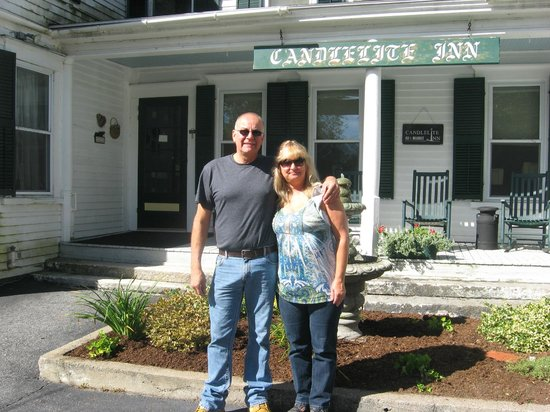 Candlelite Inn: My honey and I had a lovely getaway weekend.