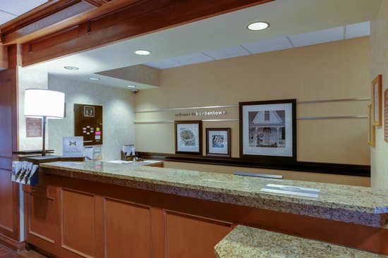 Stay at the Hampton Inn Bordentown.