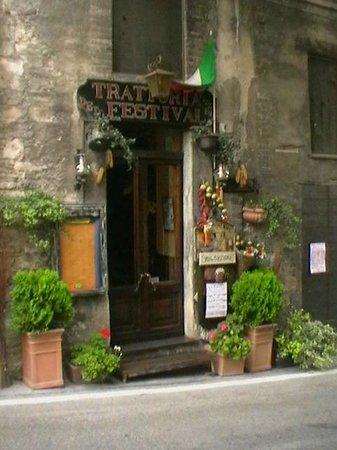 Trattoria del Festival: Il ristorante