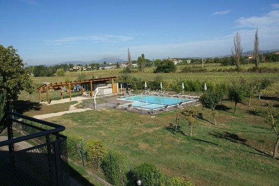 Hotel Campiglione: piscina