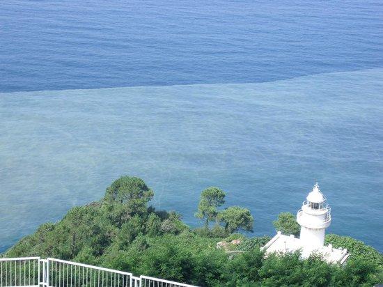 Mercure Monte Igueldo: Hotel Mercure Igueldo vista dalla camera assegnata