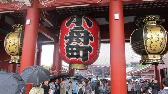 K's House Tokyo Oasis: templo de sensoji