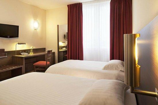 Hôtel Escale Oceania Brest : Chambre à Lits Jumeaux