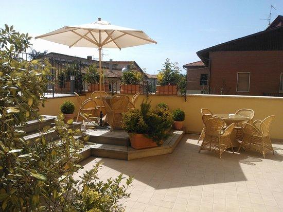 Hotel Corsignano - Pienza: Terrazza